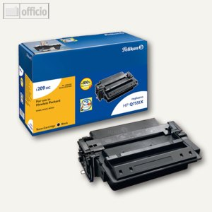 Pelikan Toner für HP Q7551X, schwarz, 13.000 Seiten, 627803