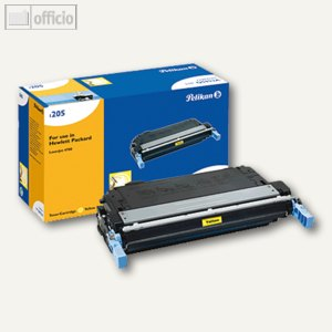 Pelikan Toner 1205, kompatibel zu HP Q5952A, gelb, 10.000 Seiten, 629142