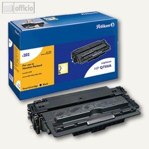 Pelikan Toner 1202, kompatibel zu HP Q7516A, schwarz, ca. 12.000 Seiten, 625397