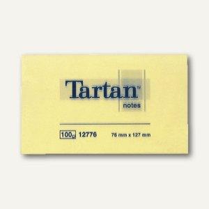 Tartan Haftnotizen Notes, gelb, 127 x 76 mm, 012776