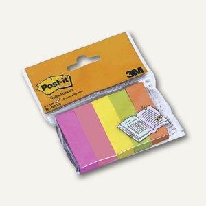Post-it Page Markers, 15x50 mm, Neonfarben, 5x 100 Blatt, 670-5