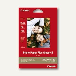 "Canon Fotoglanzpapier ""Plus II PP-201"", 13 x 18 cm, 260g/m², 20 Blatt, 2311B018"