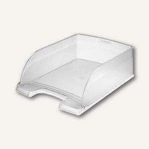 LEITZ Briefkorb Jumbo, 255x103x360 mm, stapelbar, farblos, 5233-00-03