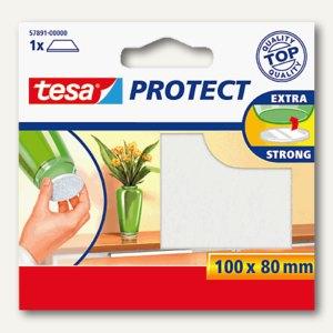 Tesa Filzgleiter rechteckig, 100 x 80 mm, weiß, 57891-00000-00
