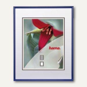 "Hama Kunststoffrahmen ""Sevilla"", 40 x 60 cm, blau, 66318"