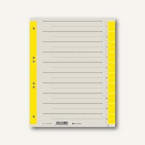 officio Trennblätter DIN A4, 230 g/m², farbig gelb, 100 Stück