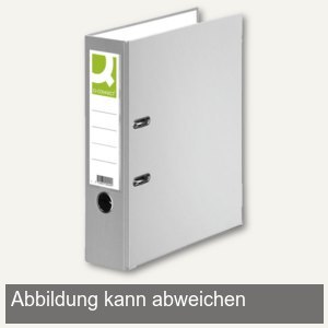 officio Kunststoff-Ordner DIN A4, Rückenbreite 80 mm, grau