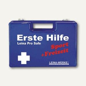 Leina Erste-Hilfe-Koffer & Wandhalter, DIN 13157+Zusatz f. Sport&Freizeit, 21106