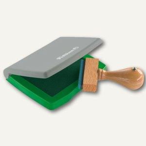 Pelikan Stempelkissen 3E, 5 x 7 cm im Kunststoff-Gehäuse, grün, 337717