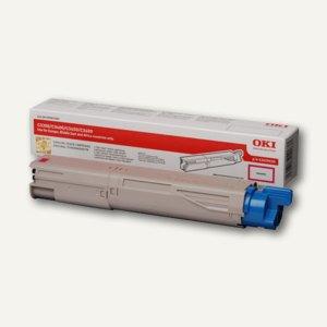 OKI Lasertoner, magenta, C3300/3400/3450/3600, 43459434