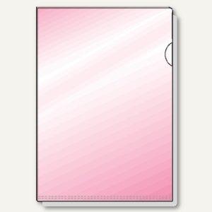 Hetzel Sichthüllen DIN A4, violett, glänzend, 25 Stück, 21780160