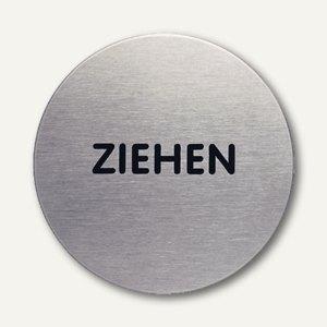 Artikelbild: Edelstahl-Piktogramm Ziehen