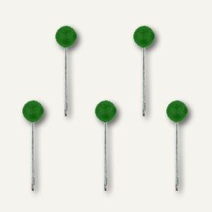 Alco Landkartennadeln, Kopf-Ø 5 mm, 16 mm lang, grün, 100 Stück, 618