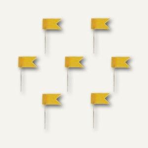 Alco Markierfähnchen, 20 mm, gelb, 20 Stück, 713