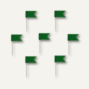 Alco Markierfähnchen, 20 mm, grün, 20 Stück, 718
