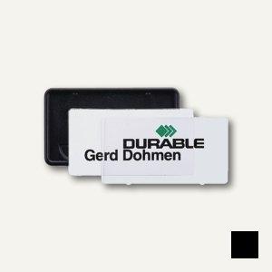 Namensschild Clip-Card mit Kombiklemme