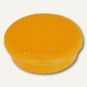 Franken Haftmagnet, rund - Ø 32 mm, Haftkraft 800g, gelb, HM30 04