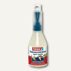 Tesa Vielzweckkleber, 100 g Flasche, 57020