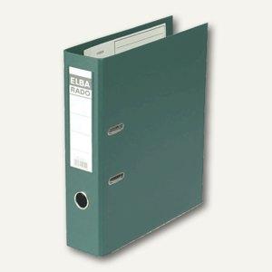 Elba Ordner RADO-Plast DIN A4, 80mm, grün, 100022628