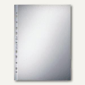 LEITZ Prospekthüllen DIN A4, 90my oben u. links offen, 100 Stück, 4797-00