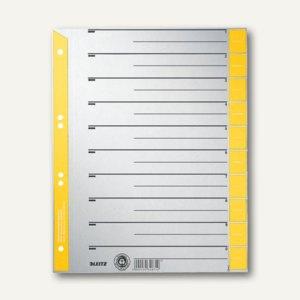LEITZ Trennblätter DIN A4, gelb, 100 Blatt, 16520015