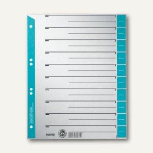 LEITZ Trennblätter DIN A4, hellblau, 100 Blatt, 16520030
