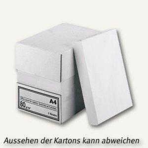 officio Kopierpapier NoName DIN A4, 80g/m², weiß, 2.500 Blatt
