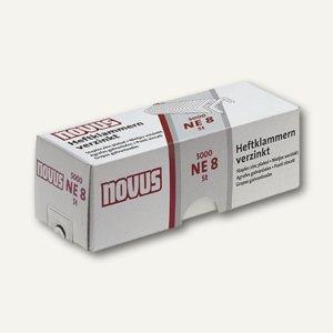 Novus Heftklammern NE8, 5000 Stück, 042-0002