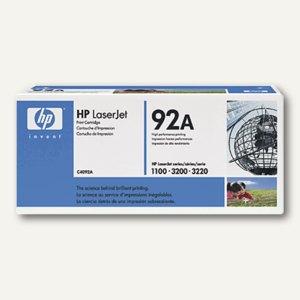 HP Toner Nr. 92A, schwarz, ca. 2500 Seiten, C4092A