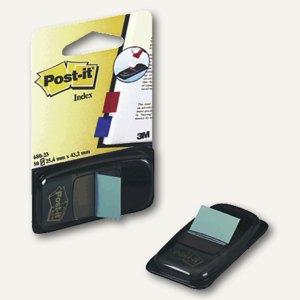 Post-it Index Standard, 25,4 x 43,2 mm, türkis, 50 Haftstreifen, I680-23