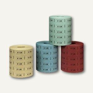 Herlitz Wertmarken 1,00 Euro, einfarbig, 5 x 1.000 Stück, 10733368