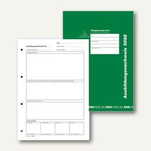 """Ausbildungsnachweis-Hefter """"Alle Berufe"""", wöchentlich/monatlich, 28 Blatt, 5088"""