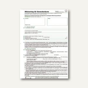 Artikelbild: Mietvertrag für Gewerberäume