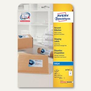 Artikelbild: Adress-Etiketten für Inkjet-Drucker