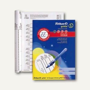 Pelikan griffix Schreiblernheft Stufe 1, Übungen für den Wachsschreiber, 105304