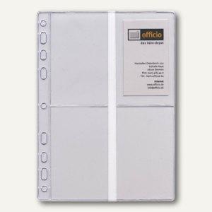 Dohse ide Timing 1 Visitenkartenhüllen, DIN A5, 8 Fächer, 6 Stück, 7065702