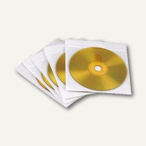 Hama CD/DVD Leerhülle, selbstklebend, PP, weiß, 25 Stück, 78334