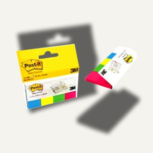 Post-it Page Markers, 20x38mm, Neonfarben, 4x 50 Blatt, 670-4N