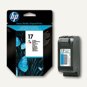 HP Tintenpatrone Nr.17, farbig C/M/Y, 15 ml, C6625AE
