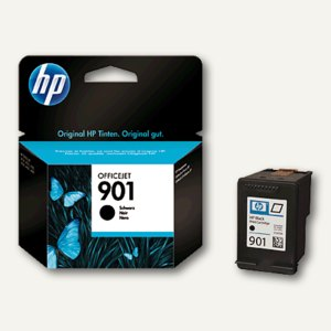 HP Tintenpatrone Nr. 901 schwarz, CC653AE