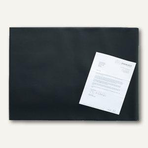 officio Schreibunterlage mit Folie, 65 x 52 cm, schwarz