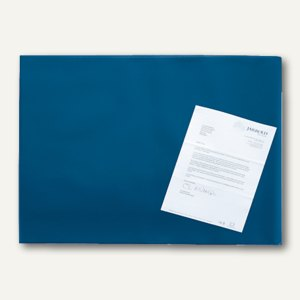 officio Schreibunterlage mit Folie, 65 x 52 cm, blau