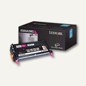 Lexmark Lasertoner X560, magenta, X560A2MG