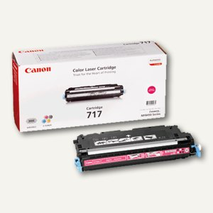 "Canon Lasertoner ""717"", ca. 4.000 Seiten, magenta, 2576B002"