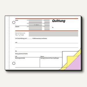 Formular Quittung DIN A6 quer