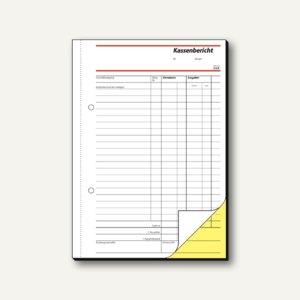 Formular Kassenbericht DIN A5
