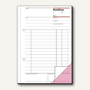 Sigel Formular Bestellung DIN A5 hoch 2x50 Blatt, BE525
