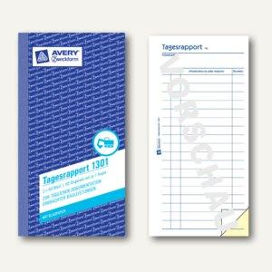 Zweckform Formular Tagesrapport, 10.5 x 20 cm, 2x50 Blatt, 1301