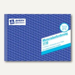 Formular Materialanforderungen DIN A5
