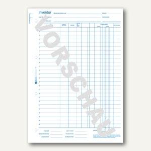 Formular Inventurbuch DIN A4